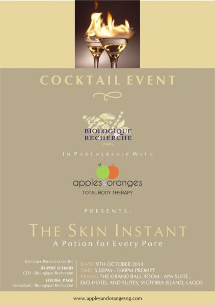 The Skin Instant Cocktail Event with Apples and Oranges- BellaNaija - October 2013
