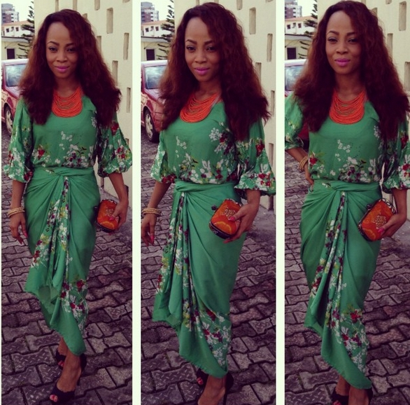 Toke Makinwa - October 2013 - BellaNaija