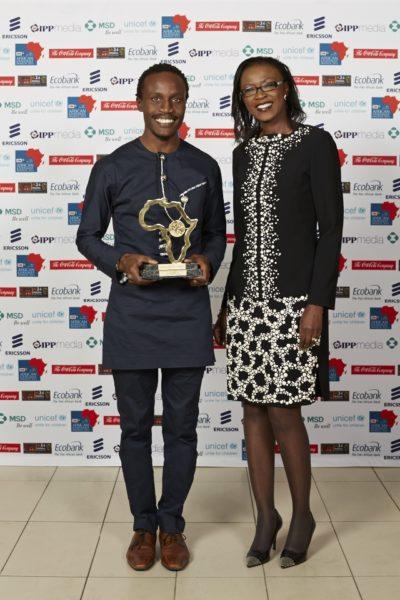 Tolu Ogunlesi & Dr. Susan Mboya (President, Coca-Cola Africa Foundation)