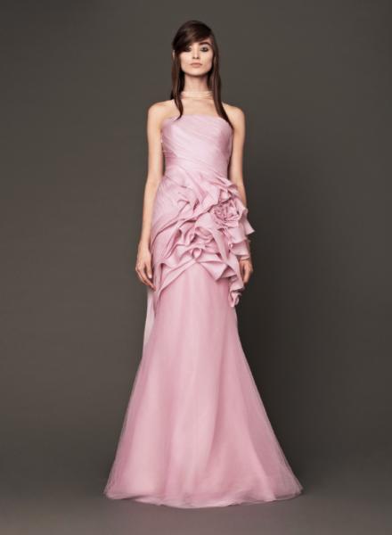 Vera Wang Pink Bridal Collection Fall 2014-1