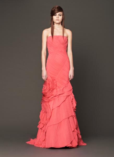 Vera Wang Pink Bridal Collection Fall 2014-11