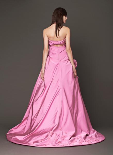 Vera Wang Pink Bridal Collection Fall 2014-12b