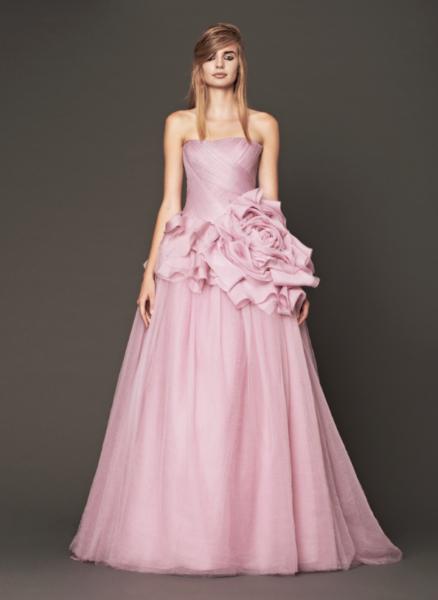Vera Wang Pink Bridal Collection Fall 2014-15