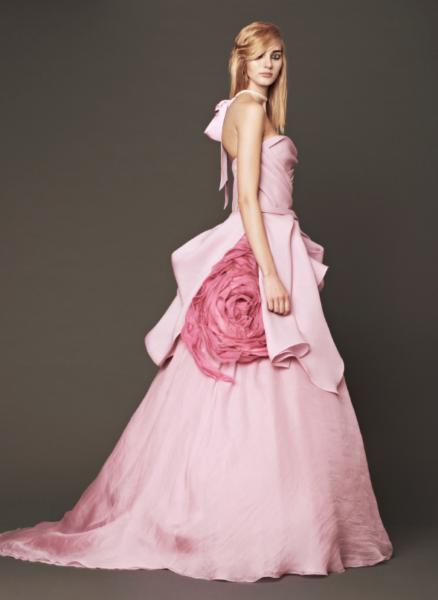 Vera Wang Pink Bridal Collection Fall 2014-3