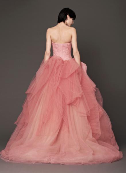 Vera Wang Pink Bridal Collection Fall 2014-4b
