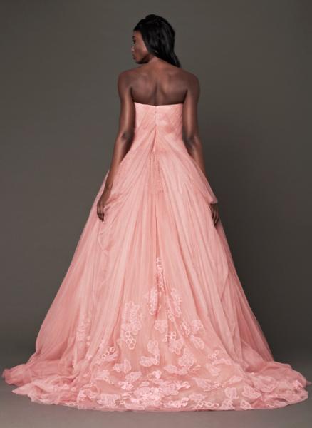 Vera Wang Pink Bridal Collection Fall 2014-6b