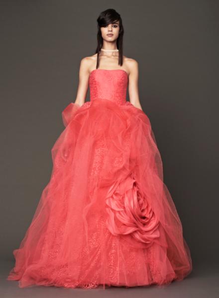 Vera Wang Pink Bridal Collection Fall 2014-7