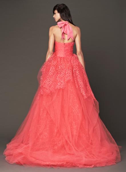 Vera Wang Pink Bridal Collection Fall 2014-7b
