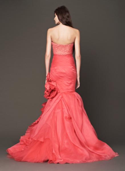 Vera Wang Pink Bridal Collection Fall 2014-8b