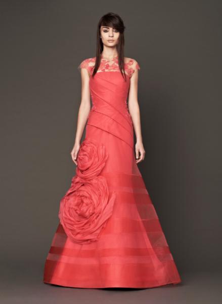 Vera Wang Pink Bridal Collection Fall 2014-9