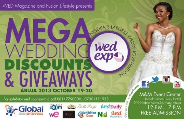 WED Magazine and Fusion Lifestyle Wedding Discount - BellaNaija - October 2013