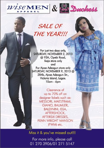 Wisemen & Duchess - October 2013 - BellaNaija