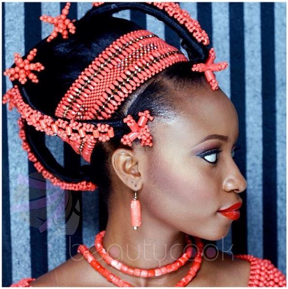 BN Bridal Beauty: Edo Brides in Beautiful Beaded Benin ...