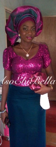 bellanaija asoebi aso ebi asoebibella nigerian traditional wedding guest gele 13