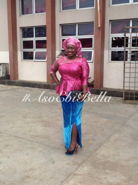 bellanaija asoebi aso ebi asoebibella nigerian traditional wedding guest gele 23