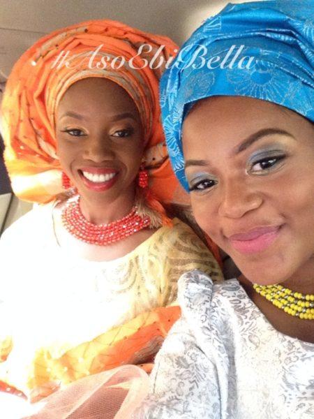 bellanaija asoebi aso ebi asoebibella nigerian traditional wedding guest gele 3