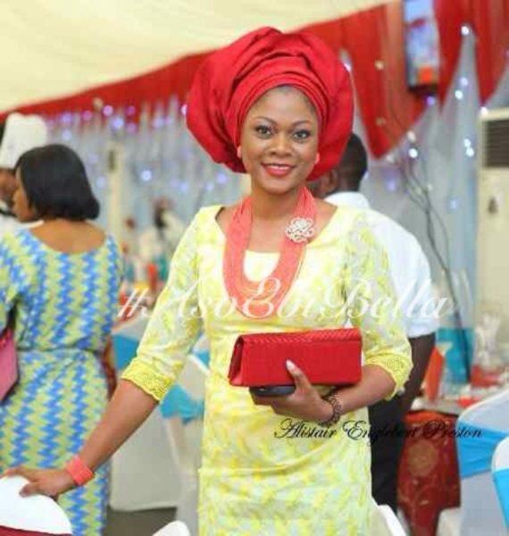 bellanaija asoebi aso ebi asoebibella nigerian traditional wedding guest gele 37