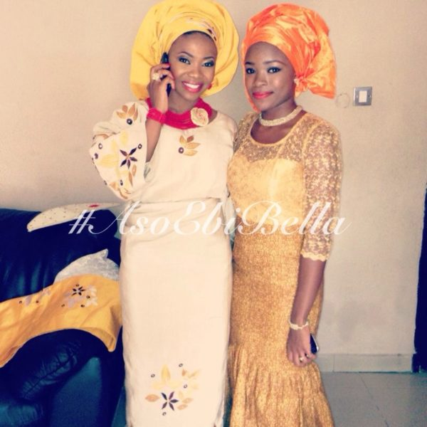 bellanaija asoebi aso ebi asoebibella nigerian traditional wedding guest gele 38