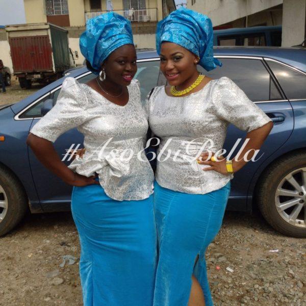 bellanaija asoebi aso ebi asoebibella nigerian traditional wedding guest gele 4