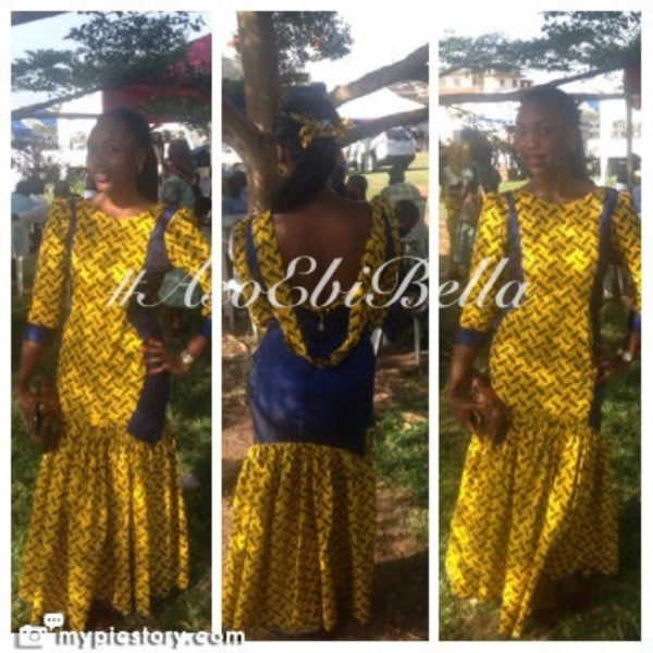 bellanaija asoebi aso ebi asoebibella nigerian traditional wedding guest gele 59