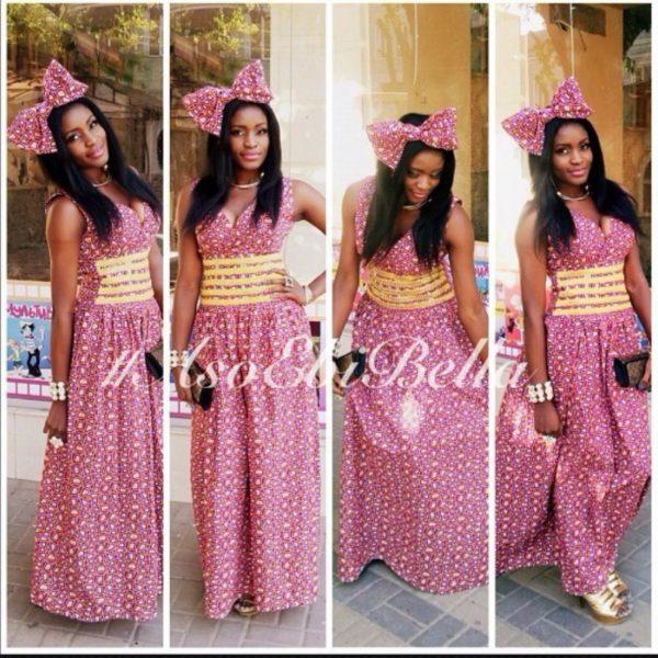 bellanaija asoebi aso ebi asoebibella nigerian traditional wedding guest gele 70