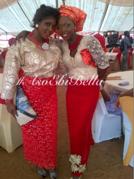 bellanaija asoebi aso ebi asoebibella nigerian traditional wedding guest gele 8