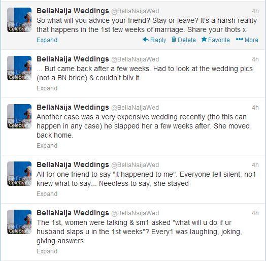 domestic violence nigerian marriage wedding