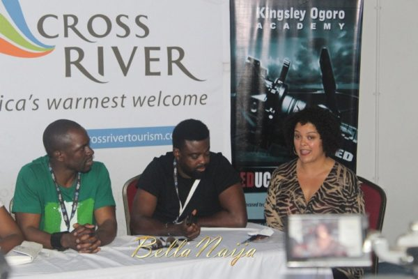 Gbenga Akinnagbe & Kunle Afolayan