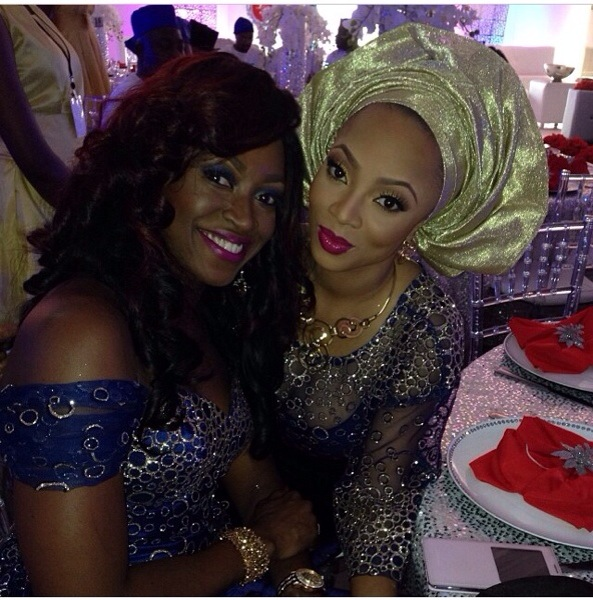 Toke Makinwa & Kate Henshaw