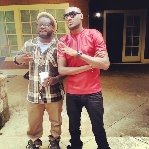 2Face T-Pain - October 2013 - BellaNaija (1)
