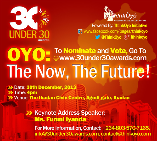 30 Under 30 Awards - BellaNaija - November 2013