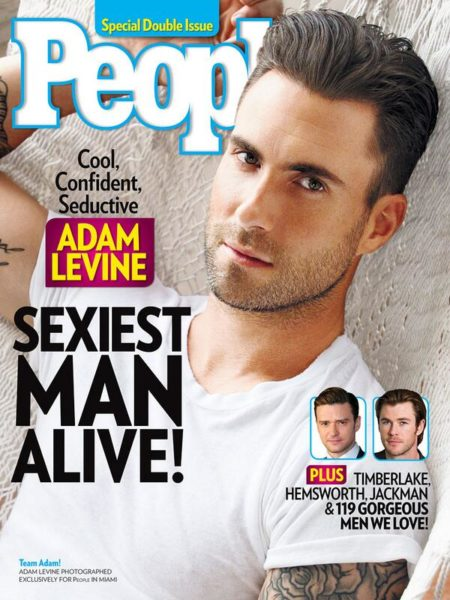Adam Levine - People's Sexiest Man Alive - November 2013 - BellaNaija