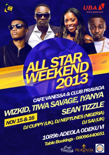 All Star Weekend 2013 - Bellanaija - November 2013