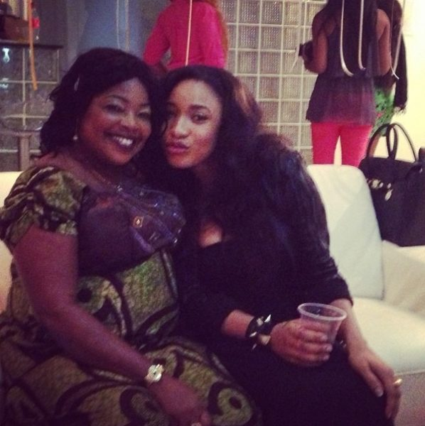 Mrs Macaulay & Tonto Dikeh