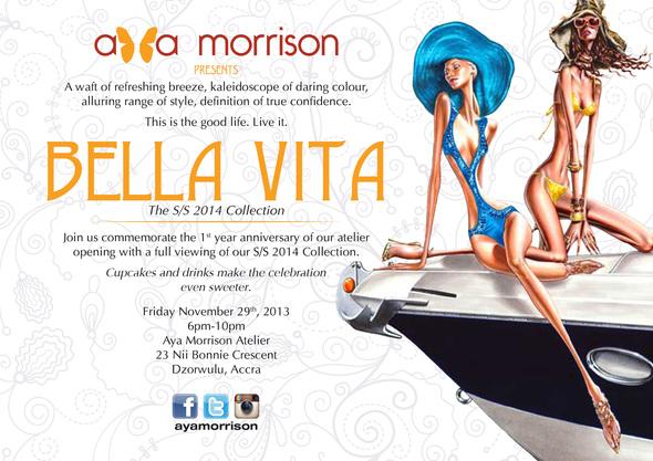 Aya Morrison - Bella Vita Collection - November 2013 - BellaNaija