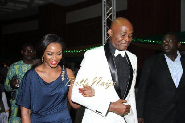 Genevieve Nnaji & Richard Mofe Damijo