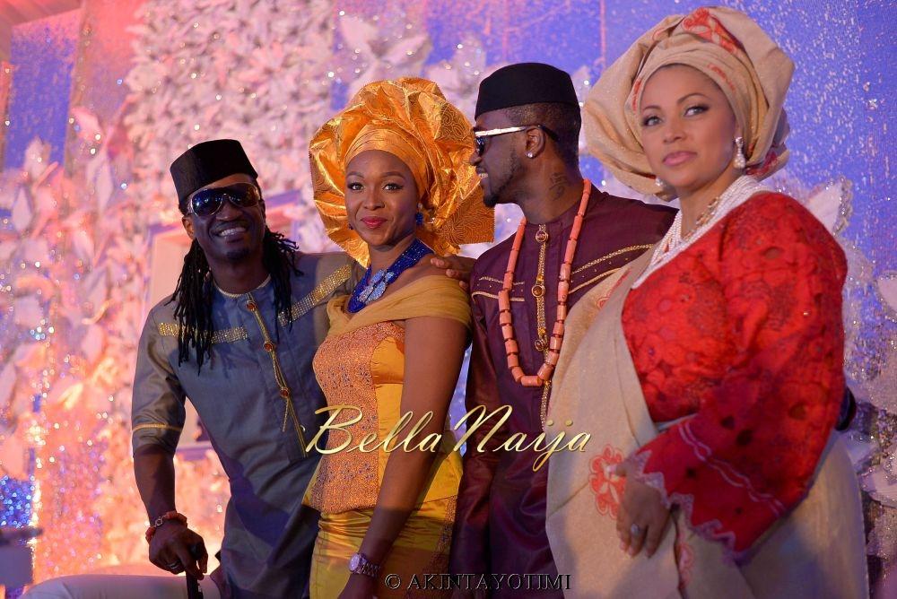 BellaNaija Peter PSquare Lola Omotayo Wedding AkinTayoTimi1-33