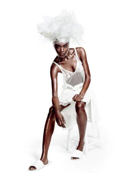 Betty Adewole for Wonderland Magazine Fashion Editorial - BellaNaija - November 2013001
