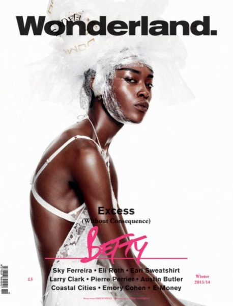 Betty Adewole for Wonderland Magazine Fashion Editorial - BellaNaija - November 20130010