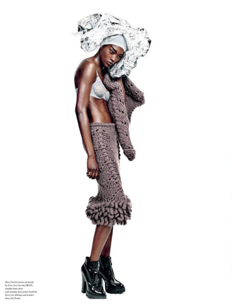 Betty Adewole for Wonderland Magazine Fashion Editorial - BellaNaija - November 2013004