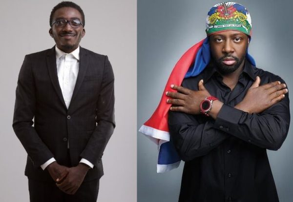 Bovi & Wyclef Jean - November 2013 - BellaNaija