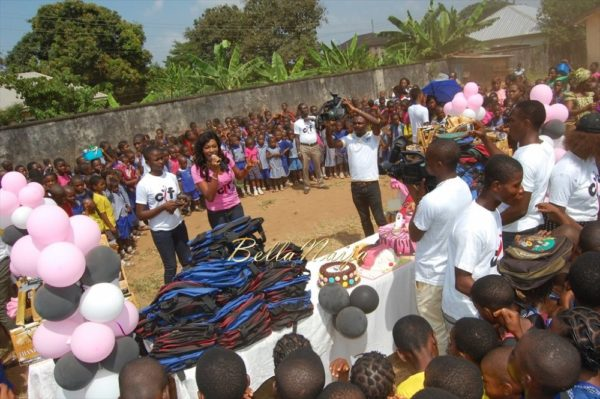 Chika Ike celebrates her Birthday in Asaba Public School - November 2013 - BellaNaija013