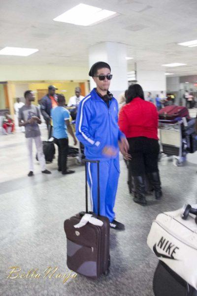 Chimpunk arrives Lagos for the Fire of Zamani Concert - November 2013 - BellaNaija - 021