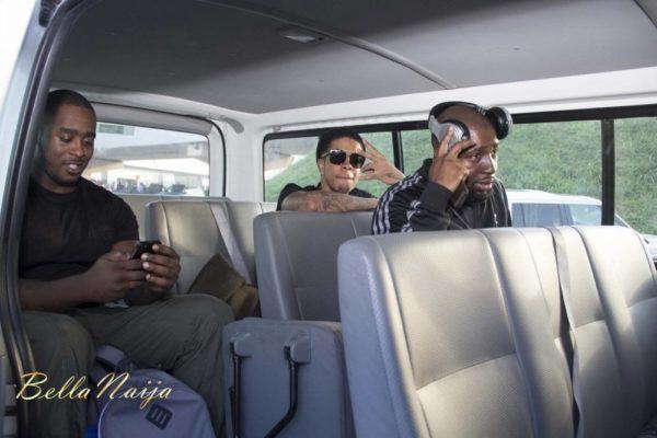 Chimpunk arrives Lagos for the Fire of Zamani Concert - November 2013 - BellaNaija - 022