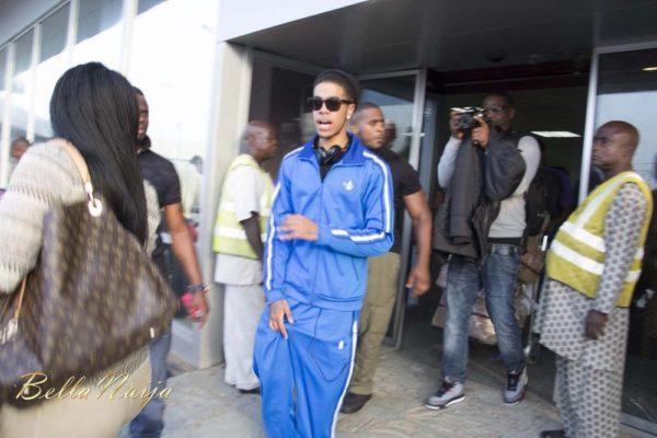 Chimpunk arrives Lagos for the Fire of Zamani Concert - November 2013 - BellaNaija - 027