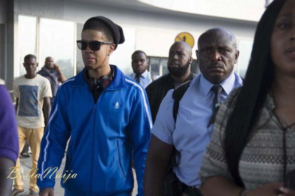 Chimpunk arrives Lagos for the Fire of Zamani Concert - November 2013 - BellaNaija - 031