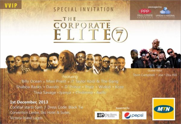 Corporate Elite 2013 - BellaNaija - November 2013