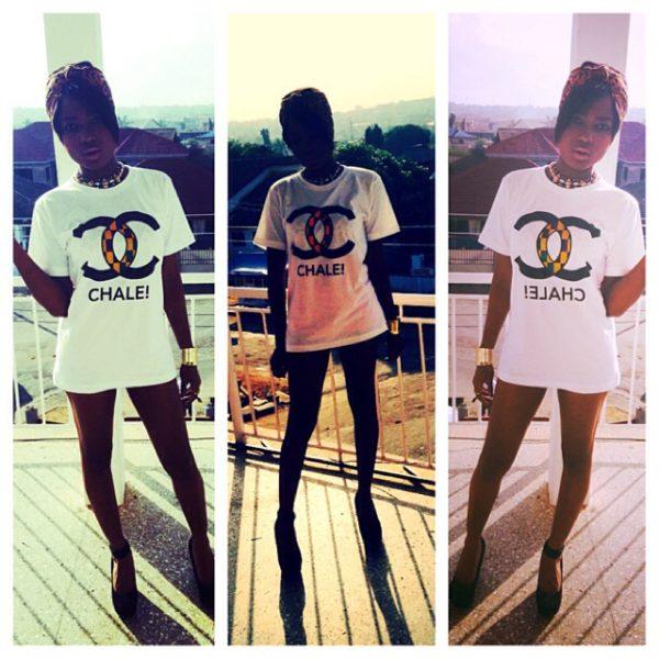 Chanel + Ghana = Chale!