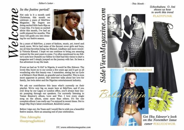 Eku Edewor covers SideView Magazine- November 2013 - BellaNaija - 027