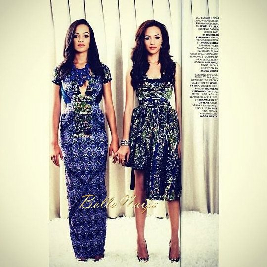 Eku & Kessiana Edewor - November 2013 - BellaNaija